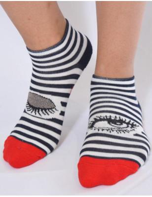 Socquette sport Berthe aux grands pieds mariner chic