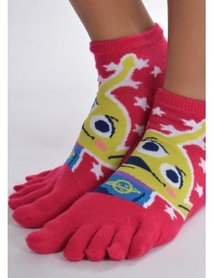 Chaussettes enfants à doigts de pieds toy story