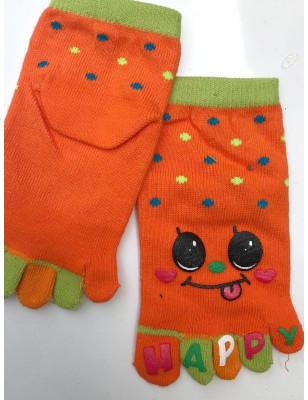 Chaussettes Happy smile Enfants à 5 doigts