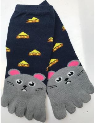 Chaussettes ludiques 5 doigts délires