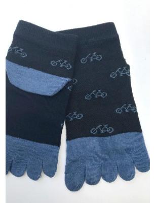 chaussettes 5 doigts vélos rigolos