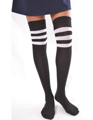 JAmbières Coton rayures de foot