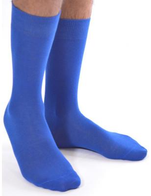 Chaussettes coton bleu de super héros