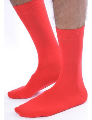 Chaussettes Rouge brique MAcahel