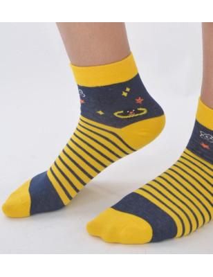 chaussettes rayures étoiles