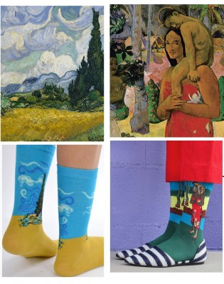 Box-art-sock-famous-painters-gauguin-van-gogh