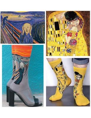 Coffret de chaussettes Maitre de la peinture Figuratives