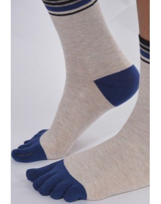 Chaussettes Beige 5 Doigts...