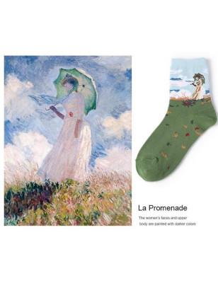 Art socks impressionnistes