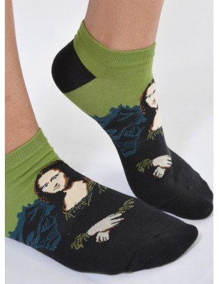 Socquette Coton La Joconde art socks