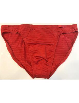 Micro slip Hom sensuel en rouge