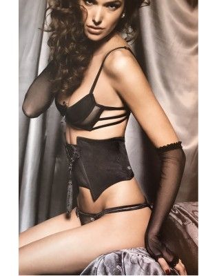 Mitaines longues tulle chic