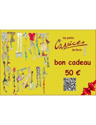 Carte cadeaux 50 Euros...