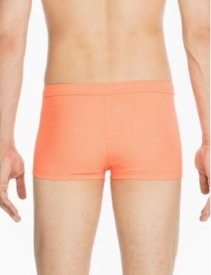 Shorty Hom pour plage et piscine orange péchu
