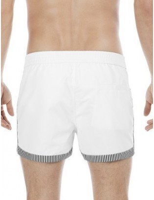 Boxer Bang Short Hom de plage blanc