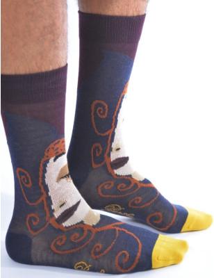 Chaussettes chaudes homme berthe aux grands pieds princesse mystère