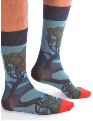 Chaussettes hiver homme art impressionniste Berthe aux grands Pieds