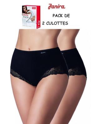 culotte Braga Ensencial JAnira coton dentelle