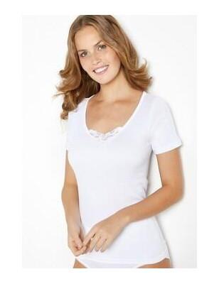 Basic Shirt Triumph Cotton et dentelle