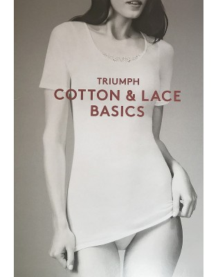Basic Shirt Triumph Cotton et dentelle