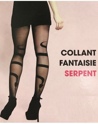 Collant serpent