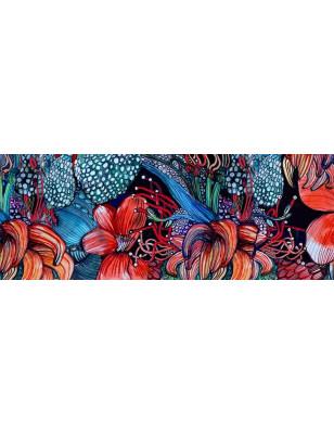 Collant tendance imprimé à fleurs dessin de Marieantoilette