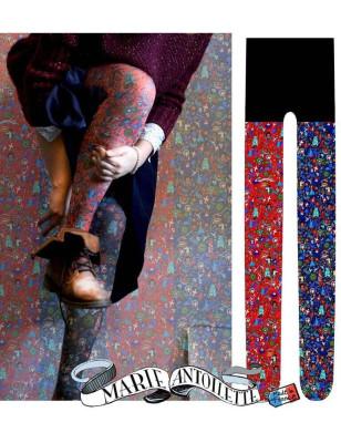 Collant sans pieds Marieantoilette Liberty