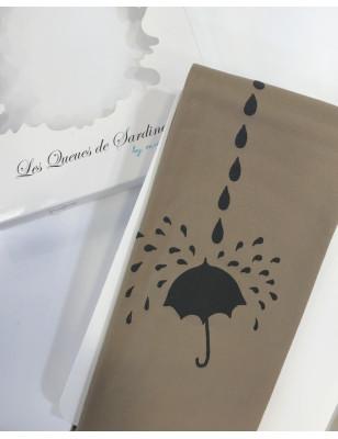 Collant opaque Tatouage Parapluies