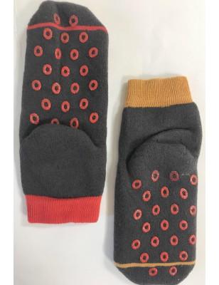 Chaussettes anti dérapante coton bouclette chaperon et loup