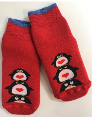 Chausson enfants Pingouins