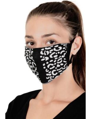 Masque anti covid Leopard Emilio cavallini