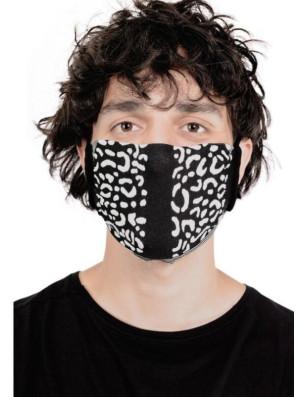 masque barrière unisex microfibre fantaisie