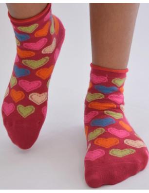 chaussettes rouges délire