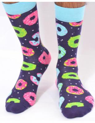 Chaussettes fun et délire Donuts rigolos