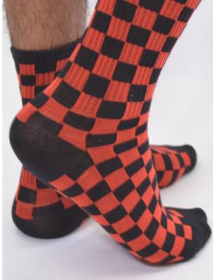 Chaussettes Bicolores à...