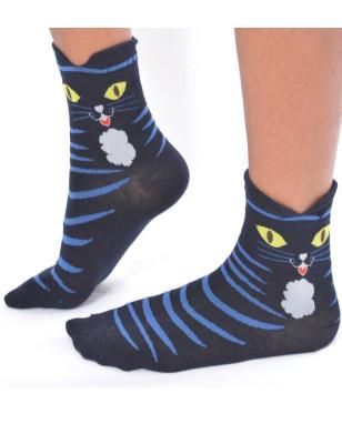 Chaussettes chats de gouttière