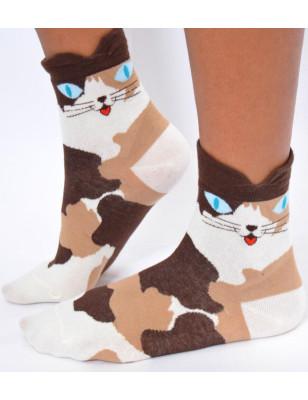 Chaussettes chats des campagne