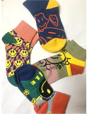 Assortiment de chaussettes Smiles psychédéliques