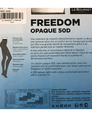 collant opaque  le bourget freedom