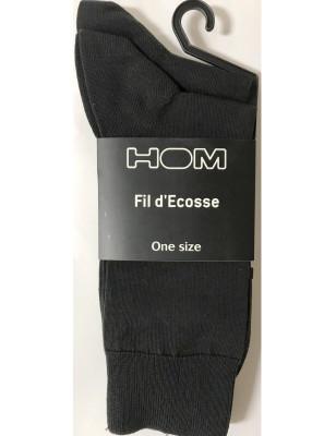 Chaussettes fil d'ecosse Hom lot en promo
