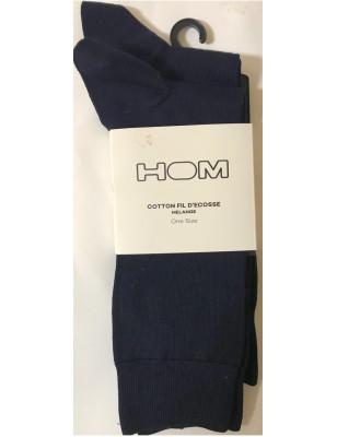 Lot 2 paires de chaussettes Fil en promo marine