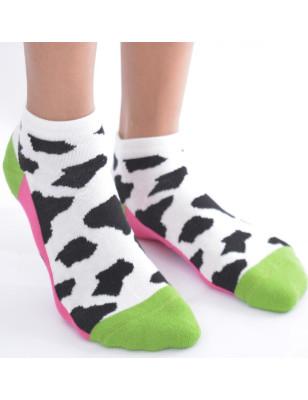 Chaussettes Vache de Berthe aux grands Pieds