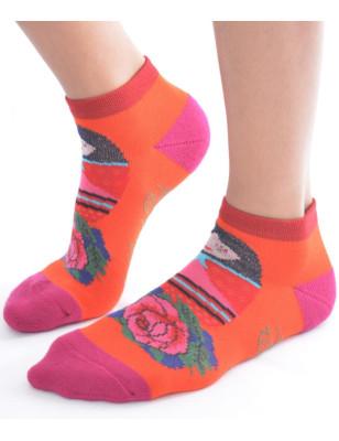 Chaussettes invisible sport chic et ludique de Berthe aux grands Pieds
