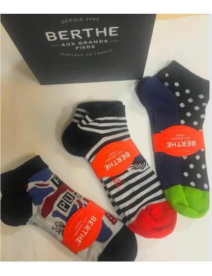 Coffret Berthe Chaussettes Hommes coton bouclette