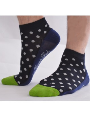 socquettes sport à pois tendance homme berthe aux grands pieds