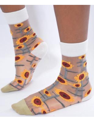 chaussettes Fines Tournesol
