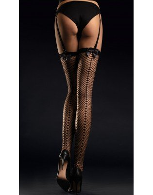 bas satine Sensual Resille couture