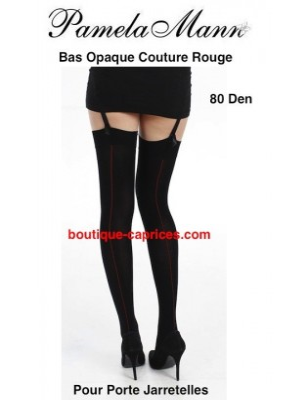Bas Opaque couture pour Porte Jaretelles