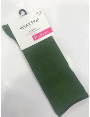 Chaussettes coton fin sans compression verte