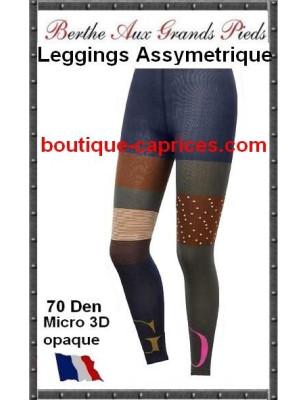 Legging Asymérique Berthe Go Blue